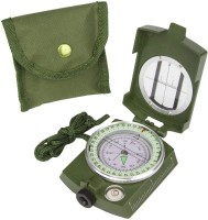 CASON Waterproof Metal Lensatic Prismatic Army Navigator For Directions Military Compass(Green)