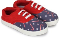 Miss & Chief Boys & Girls Lace Sneakers(Blue)