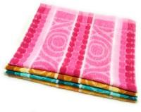 Cotton Colors Cotton 325 GSM Hand Towel Set(Pack of 4)