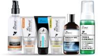 True Derma Essentials Men (A-Series) Care Pack (Hair Serum, Face Scrub, Peel Off Mask, Scrub Wash, Shower Gel, Intimate Wash)(Set of 6)