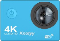 Knotyy Action Camera 4K Sports and Action Camera(Blue, 16 MP)