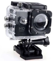 ALONZO 1080P Sports Action Camera Ultra HD at 30/45 fps support 32GB SD Card, 2 inch LCD Screen suitable with Android, IOS, Tablet, PC Sports and Action Camera(Black, 12 MP)