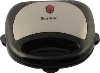 Skyline VI-888 Grill, Toast(Black & Silver)