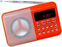 OYD New Series BT246 fm Radio Mp3 Music Player with Digital Display support recording , USB pen-drive, aux in FM Radio(Orange)