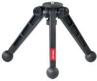 FLYFILMS Universal Mini Portable 3 Leg Tripod Stand Supports Camera Upto 2Kg Tripod(Black, Supports Up to 2000)