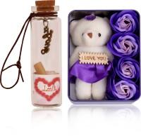 HOMOKART LOVE PACKET Return Gifts for Wife Girlfriend Sister On Birthday, Anniversary, Rakhi, Valentine's Day Hip Flask, Showpiece Gift Set