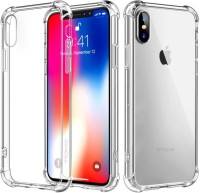 Cover Alive Back Cover for Apple iPhone XS, Apple iPhone X(Transparent, Shock Proof)