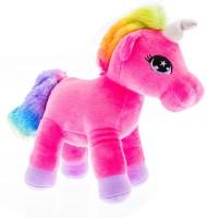 Miss & Chief Standing Unicorn Horse  - 25 cm(Multicolor)