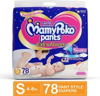 MamyPoko Pants Extra Absorb Diaper - S(78 Pieces)