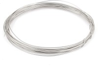 ART IFACT 32 Gauge Nichrome wire - 5 Meters, Heat Resistance Wire, - Heating Coils, - Foam cutting wire Silver 5 m Wire(Silver)