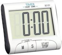 P-PLUS INTERNATIONAL Digital Kitchen Timer & Stopwatch, Large Digits, Loud Alarm, Magnetic Stand DC101 Digital Kitchen Timer