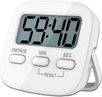 P-PLUS INTERNATIONAL Mini Cooking Timer Kitchen Timer Digital Large LCD Display Loud Alarm Timer Magnetic Cooking Timer ROUND TIMER Digital Kitchen Timer