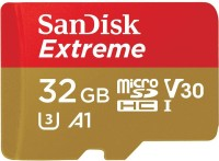 SanDisk Extreme 32 GB MicroSDHC UHS Class 3 100  Memory Card