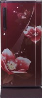 View Haier 181 L Direct Cool Single Door 3 Star Refrigerator(Red Magnolia, HRD-1813PRM-E)  Price Online