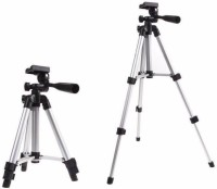 MobFest 3110 Portable Tripod(Silver, Supports Up to 1000)