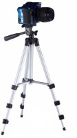 MobFest Premium Quality Tripod Stand 360 Degree 940mm Extendable Stretch 3110 Portable Digital Camera Mobile Stand Holder Camcorder Tripod Stand Lightweight Aluminum Flexible Portable Three-way Head Compatible Tripod(Black, Silver, Supports Up to 1000)