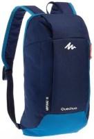 QUECHUA BY DECATHLON 10 Ltr Backpack (BLUE) Multipurpose Bag(Blue, 10 L)