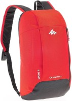 QUECHUA BY DECATHLON 10 Ltr Backpack (RED) Multipurpose Bag(Red, 10 L)