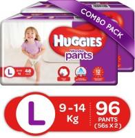 Huggies Wonder Pants Large Size Diapers - L(96 Pieces)