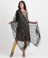 Aurelia Cotton Viscose Blend Self Design Women Dupatta