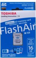 Toshiba Flash Air Wifi 16 GB SD Card Class 10 20  Memory Card