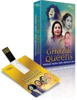 MUSIC CARD GHAZAL QUEENS Pendrive Standard Edition(Hindi - Farida Khanum, Iqbal Bano, Reshma, Abida Parveen, Noorjehan, Munni Begum), Nayyara Noor, Naheed Niyazi, Gul Bahar Bano, Tina Sani, Mulika Pukhraj, Shahida Parveen)