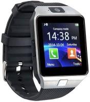 4g gadgets DZ09 Notifier Health Smartwatch(Black Strap Reguler)