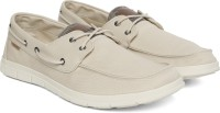 U.S. Polo Assn Boat Shoes For Men(Beige)