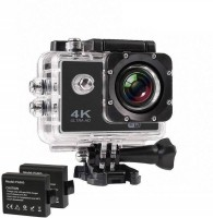 RD Kart 4K S2 Series WIFI WiFi Ultra HD Waterproof Control Sports and Action Camera(Black, 12 MP)