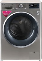 LG 8 kg Fully Automatic Front Load with In-built Heater Grey(FHT1408SWS)