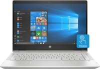HP Pavilion x360 Core i3 8th Gen - (4 GB/1 TB HDD/8 GB SSD/Windows 10 Home) 14-cd0077TU 2 in 1 Laptop(14 inch, Natural Silver, 1.68 kg, With MS Office)