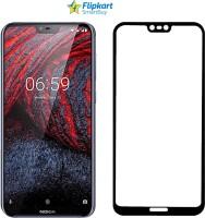 Flipkart SmartBuy Edge To Edge Tempered Glass for Nokia 6.1 Plus