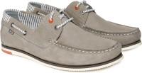 Arrow Boat Shoes For Men(Grey)