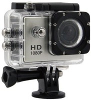 SPRING JUMP sports camera Water proof sports camera for underwater recording Sports and Action Camera(Silver, 12 MP)