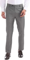 Arrow Tapered Men Grey Trousers