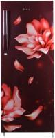 Haier 220 L Direct Cool Single Door 4 Star Refrigerator(Red Jasmine, HRD-2204CRJ-E)