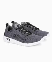 Fila CARMEN Running Shoes For Men(Black, Grey)