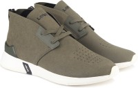 Levi's BLACK TAB DESERT Sneakers For Men(Olive)