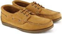 Woodland Boat Shoes For Men(Brown)