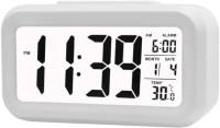 Adonai Digital White Clock