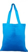 rawpockets Rawbags 'Royal Blue Bag ', reusable 100% Cotton Eco-Friendly |Bag |Natural colour|Eco bag |Canvas Fabric Multipurpose Bag(Blue, 5 L)