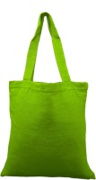 Rawpockets Rawbags 'Green Bag ', reusable 100% Cotton Eco-Friendly  Bag  Natural colour Eco bag  Canvas Fabric Multipurpose Bag(Dark Green, 5 L)