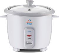 BAJAJ Majesty RCX 1 Electric Rice Cooker(1 L, White)