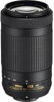 Nikon AF-P DX NIKKOR 70 - 300 mm f/4.5 - 6.3G ED VR  Lens(Black, 18 - 200mm Comparable 35mm Equivalent on DX Format Focal Length: 27 - 300 mm)