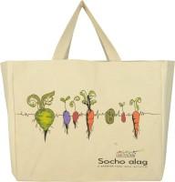 Bohemians' bag Canvas Grpcery bag Waterproof Multipurpose Bag(White, 20 inch)