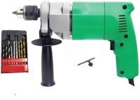 SAIFPRO EID Drill Machine & Drill Bits Power & Hand Tool Kit(12 Tools)
