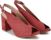Chemistry Women Pink Heels