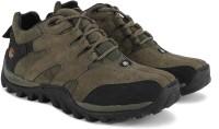 Woodland Hiking & Trekking Shoes For Men(Black, Olive)