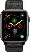 Apple Watch Series 4 GPS Smartwatch (Black Strap, 44mm)