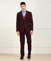 Louis Philippe Suit Self Design Men's Suit